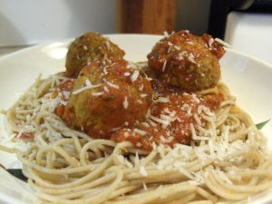 ... : Spaghetti and Turkey Meatballs w/ Bella Vita Low Carb Pasta Sauce