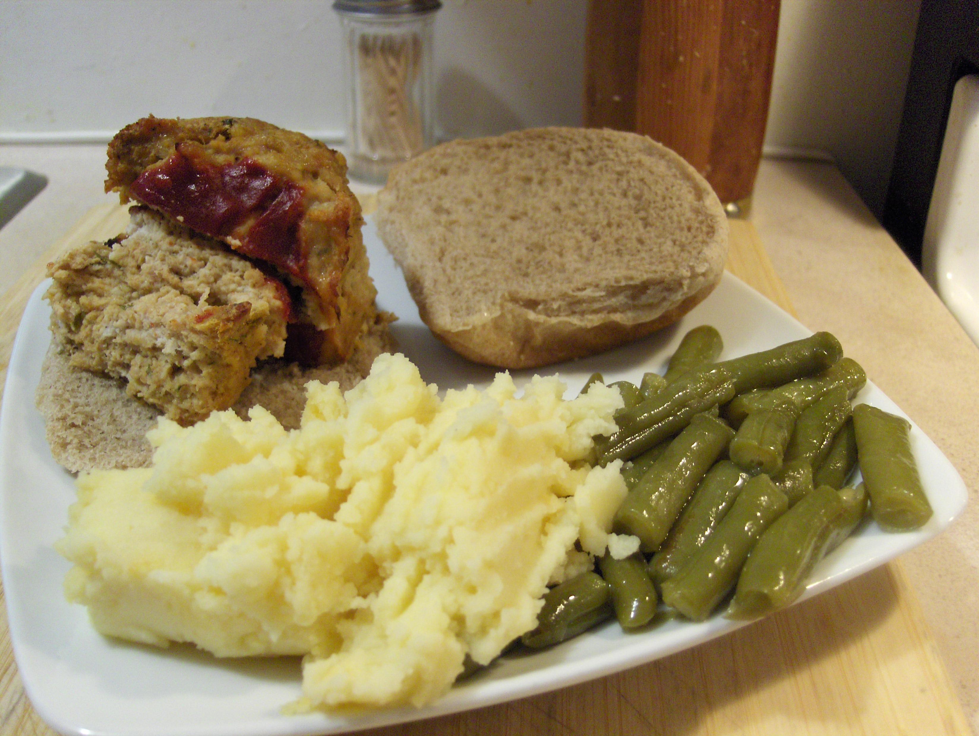 Turkey Meatloaf Sandwich Today's Menu Turkey Meatloaf