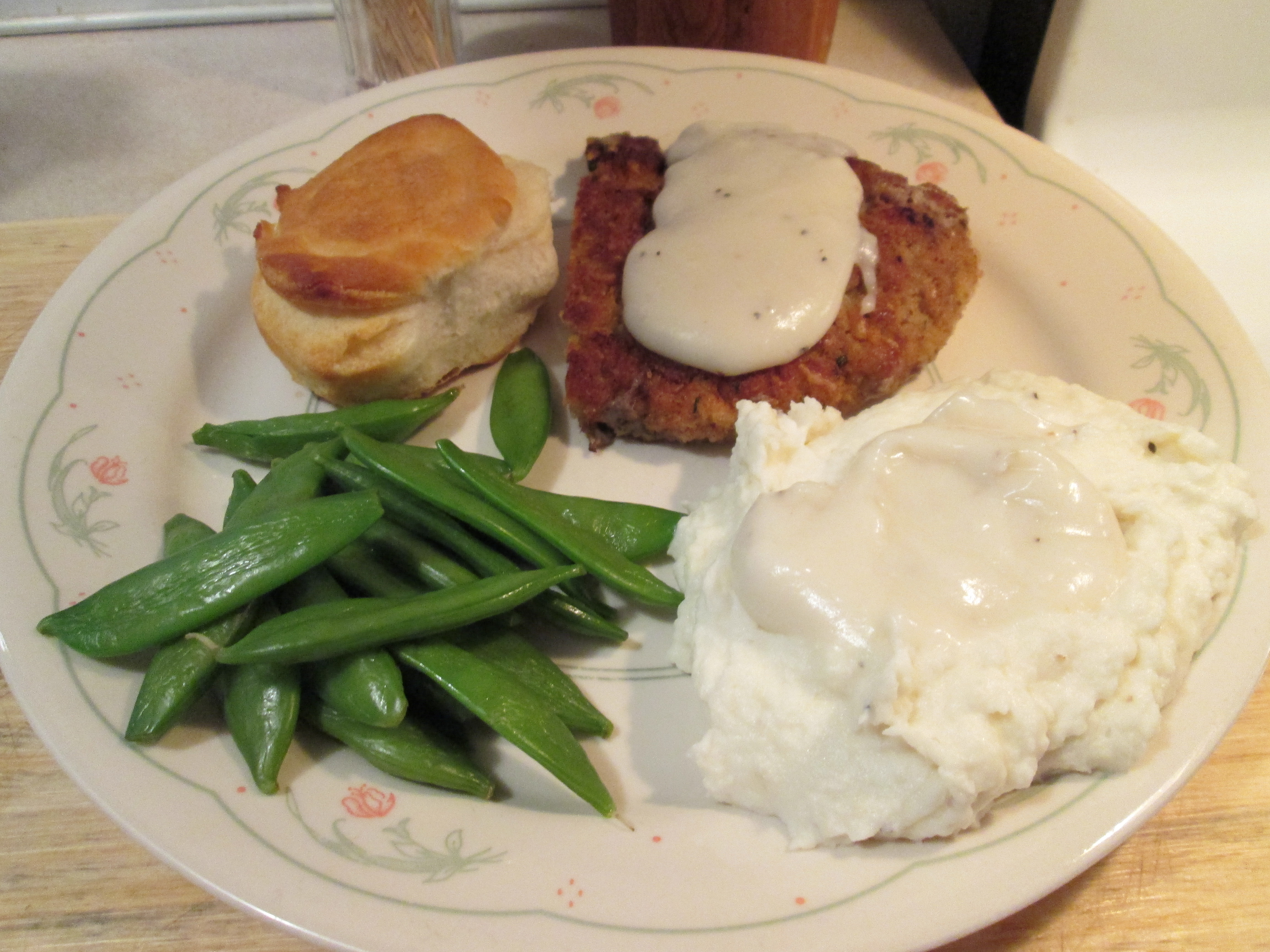 Chicken Fried Veal w/ Peppered White Gravy, Mashed Potatoes,…