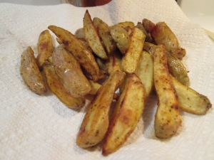 Sweet Asian Wings fingerling fries 001