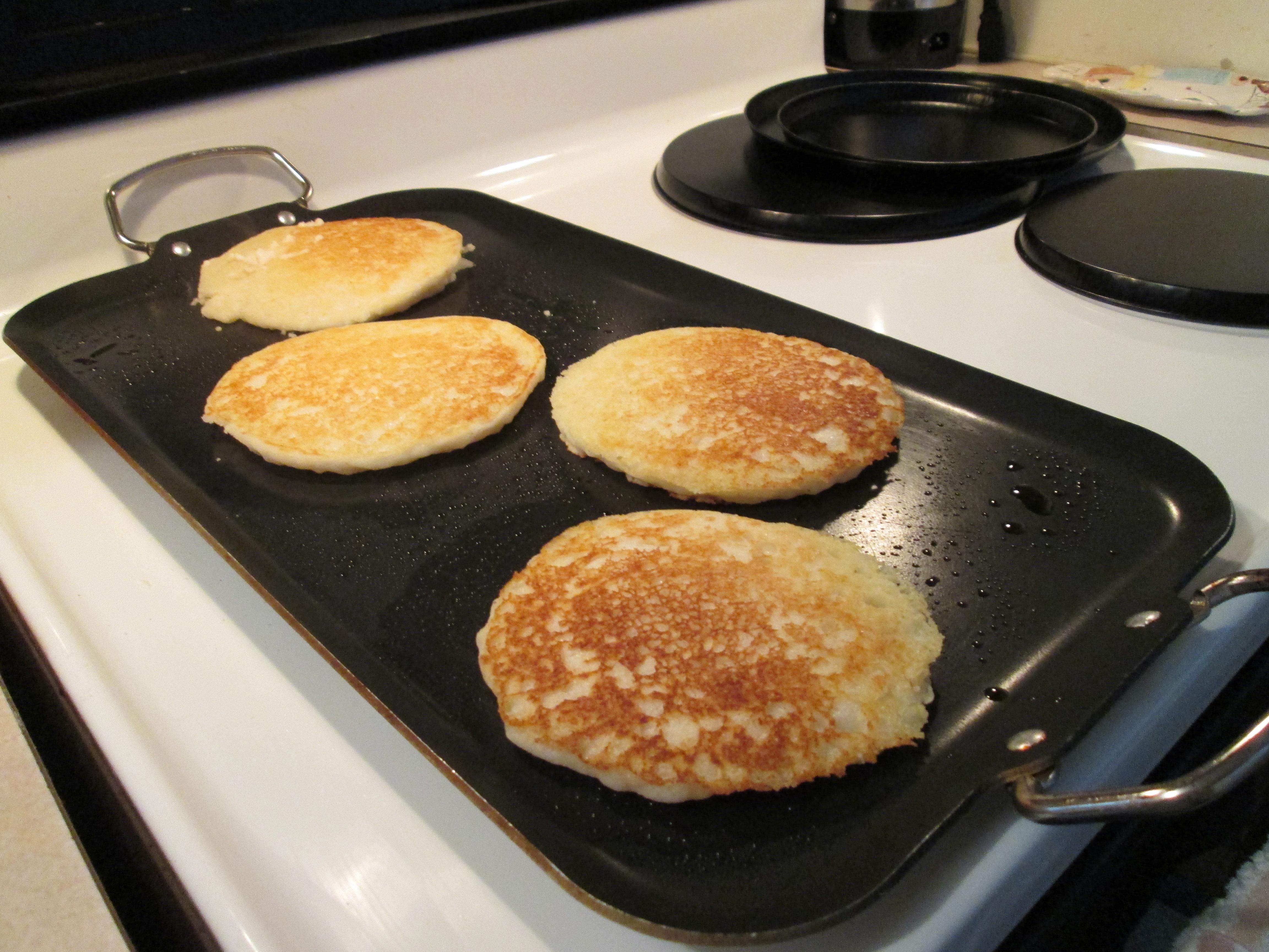 Pancakes Johnny Cakes Flapjacks