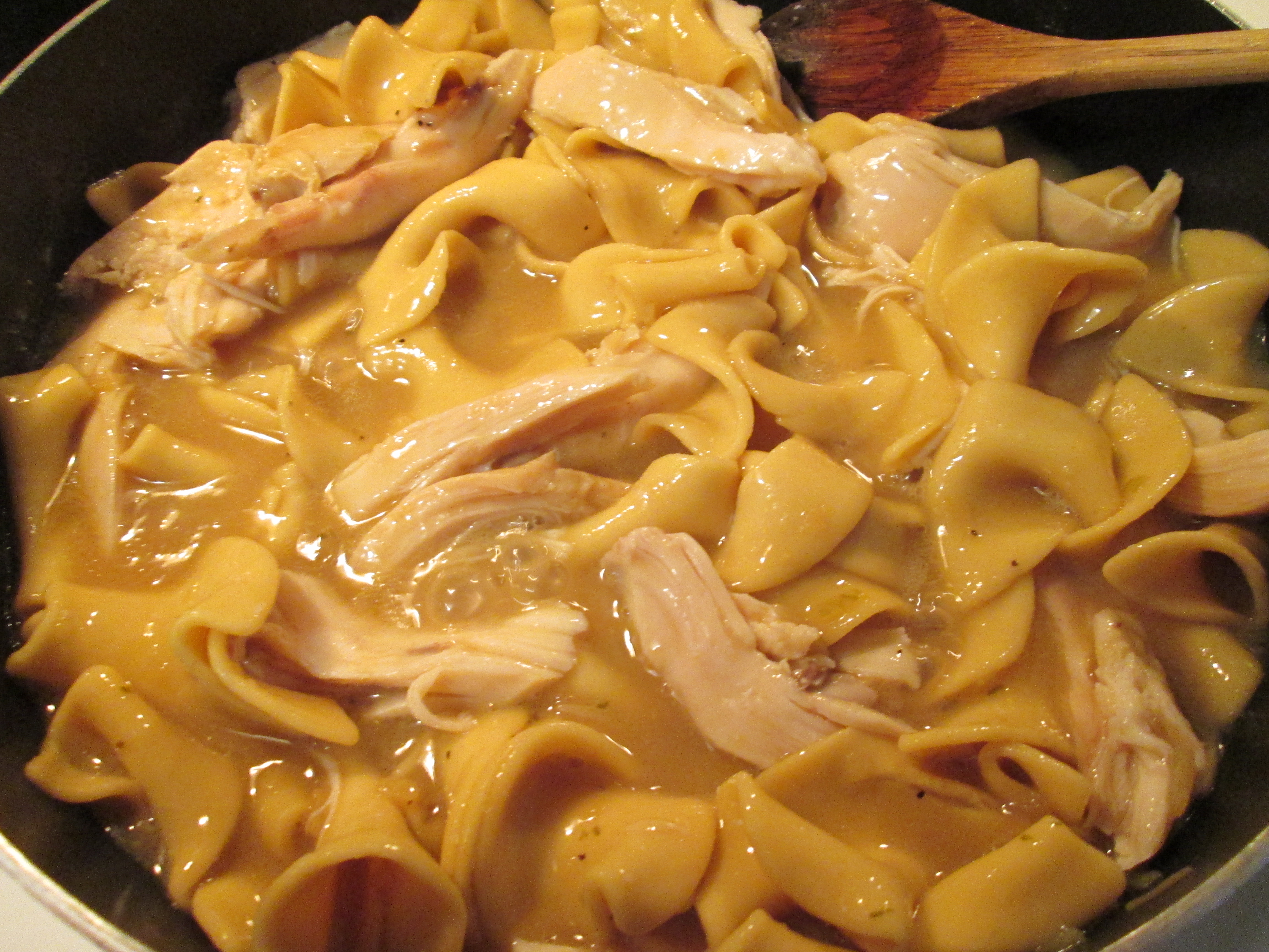 chicken breast to a can of Simple Suppers Chicken n' Noodles, which ...