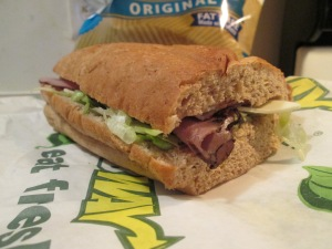 Subway turkey ham 003