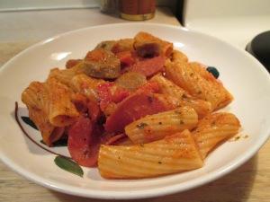 Newman's Own Italian Sausage Rigatoni 003