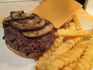 Snowing Buffalo gal burger 009