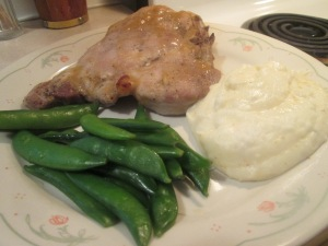 Apple Cider Mustard Glazed pork Chops 005