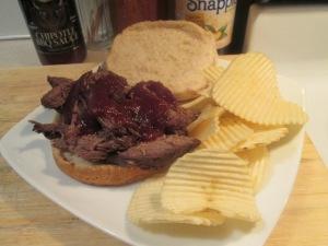 Bison BBQ Sandwich 004