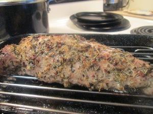 Herbed Crusted Pork Roast 002