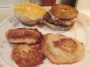 Teriyaki Pineapple Turkey Burger 004
