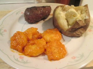 Buffalo shrimp bison sirloin 003