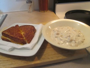 Campbells New England clam Chowder 006