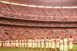 Opening Day, 1971, the Big Red Machine