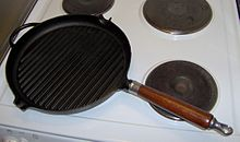 A grill pan
