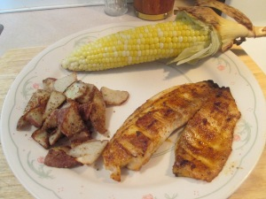Grilled Blackened Tilapia 001