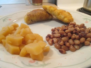 seasoned Haddock Blackeye Peas 005