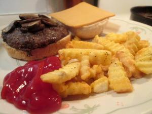 Wild Idea Bison Burger 004