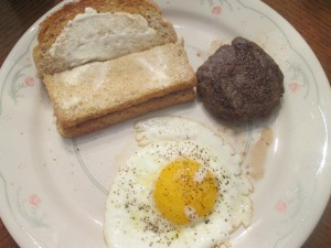 Buffalo Sausage Breakfast 007