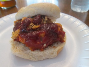 Turkey Meatloaf Sandwich 005