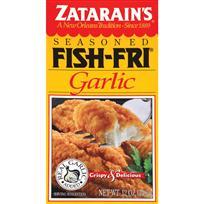 Zatarain's Seasoned Fish Fry   Garlic