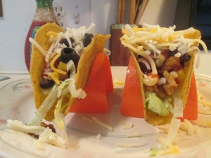 Black Bean and Turkey Tacos 007