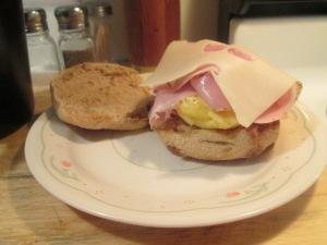 Egg Ham Swiss McMuffinn 005