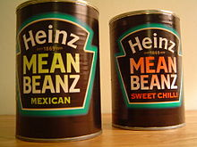 Heinz brand beans