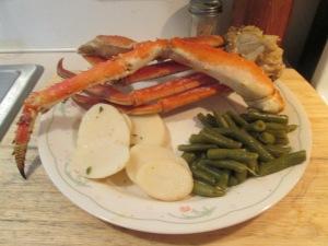 Alaskan Snow Crab Legs 006