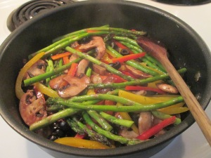 Baked Thighs and Asparagus Medley 001
