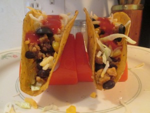 Black Bean and Turkey Tacos 001