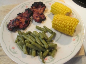 Grilled Chicken Thighs 004