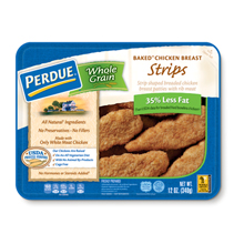 PERDUE® Whole Grain Breaded Chicken Breast Strips