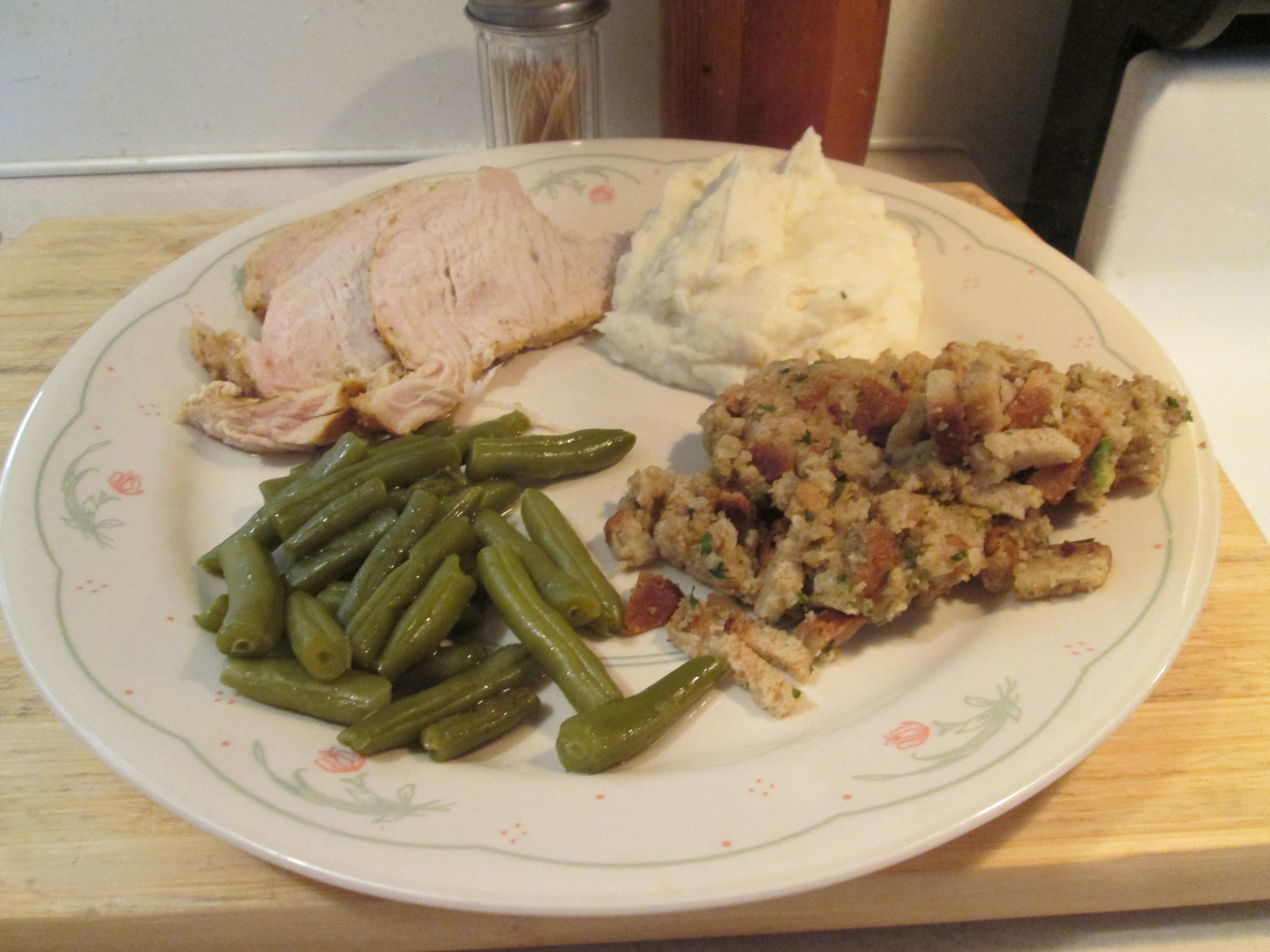 how to cook a boneless turkey breast with stuffing