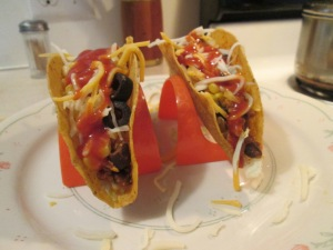 Turkey and Blackl Bean Tacos 005