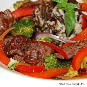Wild Idea Buffalo Buffalo Steak Strips