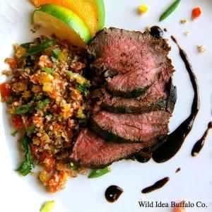 Wild Idea Buffalo Jerk Marinated Tri-Tip Roast