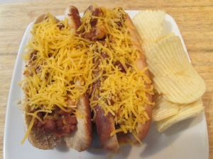 3Bean Chili Turkey Franks 004