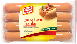 Oscar Mayer Extra Lean Turkey Franks