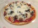 Turkey Sausage pepperoni Pizza004