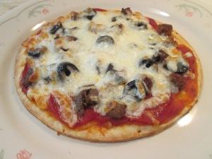 Turkey Sausage pepperoni Pizza 004