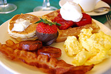 Western breakfast foods