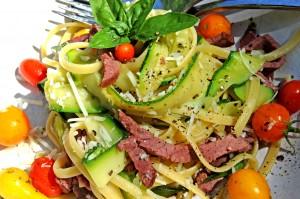 Wild Idea Buffalo Buffalo Pastrami & Zucchini Linguini