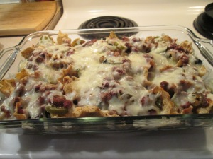 Chili and Cheese Nachos 009
