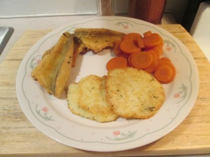 Fried Yellow Lake Perch Pot Pancakes 006