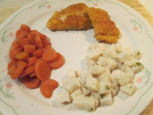 Haddock Carrots Potatoes 005