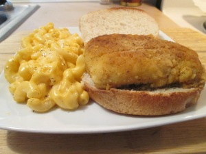 Haddock Sandwich Mac and Cheese 006