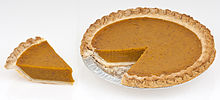 Pumpkin pie is a popular way of preparing pumpkin.