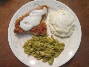 Veal Cutlet White Gravy 005