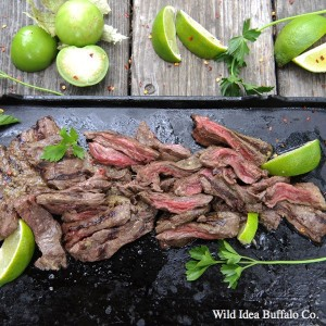 Wild Idea Buffalo Cilantro Lime Skirt Steak