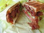 BLT sandwich ontoast