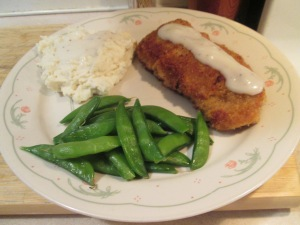Panko Crusted Veal Cutlet 003